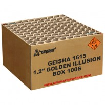 Golden Illusion Cakebox